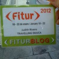 Foto diambil di Feria Internacional de Turismo (FITUR) oleh Judith R. pada 1/20/2012