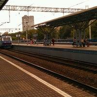 Снимок сделан в Платформа Маленковская пользователем Nikita B. 7/17/2012