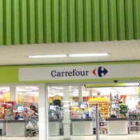 Photo taken at Carrefour by Thaynná A. on 6/2/2012