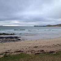 Photo taken at Balnakeil Bay by Guy D. on 4/6/2012