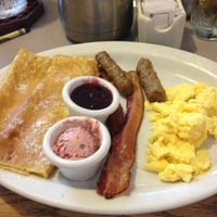 Photo taken at Egg Harbor Cafe by Tricia S. on 7/7/2012