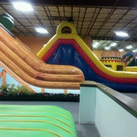 Photo taken at Bounce House Williamsburg by Myron D. on 8/25/2012