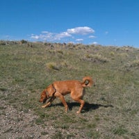 Photo taken at Colorado Hills Open Space Dog Park by Lindsay M. on 4/23/2012