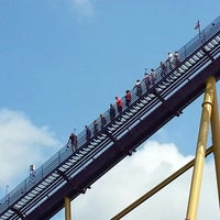 Photo taken at Apollo's Chariot - Busch Gardens by Johnny H. on 7/23/2012