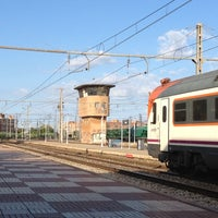 Photo taken at RENFE Reus by Blanca D. on 8/6/2012