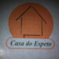 Photo taken at Casa do Espeto by Rodrigo R. on 4/8/2012