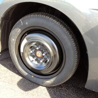 Photo taken at Discount Tire® Store by MiRk™ on 4/4/2012