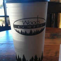 Photo taken at The Woods Coffee (Bakerview Square) by Dusten H. on 2/3/2012