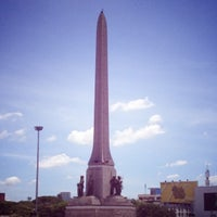 Photo taken at BTS Victory Monument (N3) by Patchy on 7/16/2012