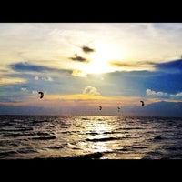 Photo taken at Wonnapa Beach by Namz B. on 5/29/2012