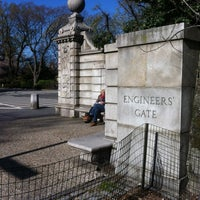 Photo taken at Central Park - Engineers' Gate by Mika K. on 3/30/2012