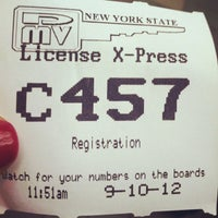 Photo taken at New York State DMV - License X-Press by debbie p. on 9/10/2012