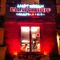Photo taken at Amsterdam Falafelshop by Jeremy R. on 3/2/2012