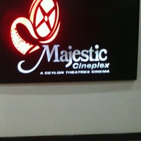 Photo taken at Majestic City Superior 3D Cinema by Umair W. on 5/10/2012