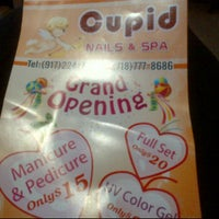 Photo taken at Cupid Nails & Spa by tirza d. on 5/12/2012