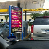 Photo taken at Bubbles Car Wash by Rick M. on 4/29/2012