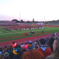 Photo taken at Chaffey High School by perla on 5/23/2012
