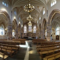 Photo taken at Saint Andrew's Cathedral by Nathan L. on 4/14/2012