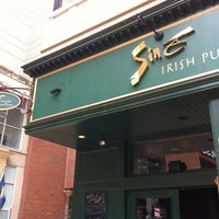 Photo taken at Siné Irish Pub & Restaurant by Shawn B. on 7/14/2012