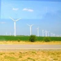 Photo taken at Meadow Lake Wind Farm by Lauren L. on 7/20/2012