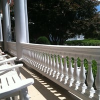 Photo taken at The Front Porch at The Homestead by Breaux V. on 6/8/2012