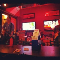 Photo taken at Basement Burger Bar by Ryan K. on 2/26/2012