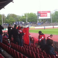 Photo taken at Südstadion by Jan B. on 4/29/2012