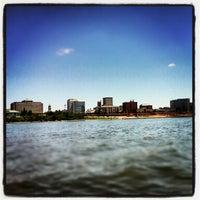 Photo taken at Evansville Riverfront by Travis T. on 8/19/2012