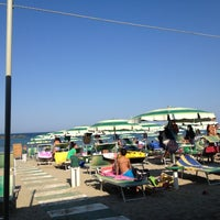 Photo taken at Bagno Giada by pirovucat on 8/4/2012