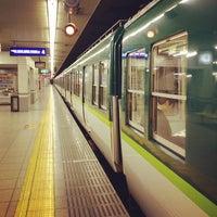 Photo taken at Sanjo Station (KH40) by Koshiba H. on 3/7/2012