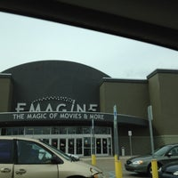 Photo taken at Emagine Woodhaven by Christine R. on 3/2/2012
