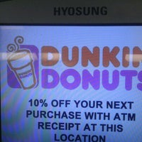 Photo taken at Dunkin Donuts by Richard A. on 7/11/2012