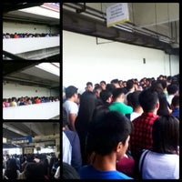 Photo taken at Yellow Line - Taft Avenue Station by iamshyeee on 9/12/2012