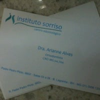 Photo taken at Instituto Sorriso by Arianne F. on 7/26/2012