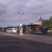 Photo taken at Tržnice MHD terminál by Ilja S. on 8/8/2012