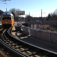 Photo taken at MBTA Ashmont/Peabody Square Station by Chad Wallace M. on 2/3/2012