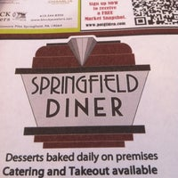 Photo taken at Springfield Diner by Joe P. on 2/12/2012