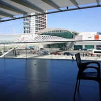 Photo taken at Gare do Oriente Train Station by Bruno D. on 8/23/2012