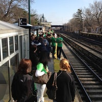 Photo taken at Metro North - Woodlawn Train Station by J. Mark E. on 3/17/2012