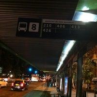 Photo taken at Parada 8 - Metro La Moneda (PA166) by Pablo R. on 3/19/2012
