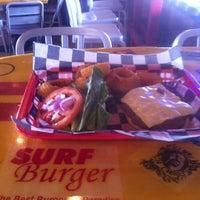 Photo taken at Surf Burger by Todd B. on 8/27/2012