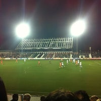 Photo taken at WakeMed Soccer Park by Bhoomesh G. on 4/29/2012