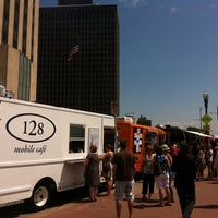 Photo taken at St. Paul Food Truck Court by Ben W. on 6/6/2012