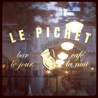 Снимок сделан в Le Pichet пользователем Timothée V. 8/17/2012