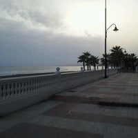 Photo taken at Paseo Marítimo de El Morche by Sandra J. E. on 3/23/2012