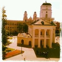 Снимок сделан в Площадь Свободы пользователем Irina K. 7/16/2012