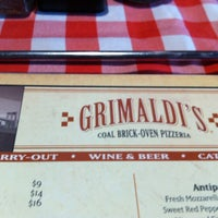 Photo taken at Grimaldi's Pizzeria by German A. on 3/19/2012