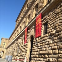Photo taken at Pitti Palace by Valentina on 8/29/2012