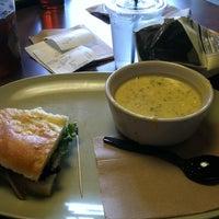 Photo taken at Panera Bread by Amanda R. on 4/22/2012