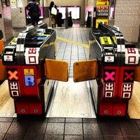 Photo taken at Tanimachi Line Temmabashi Station (T22) by Mizuho S. on 5/8/2012